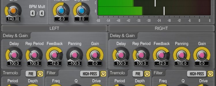 Voxengo Tempo Delay 2 – skvelý delay ZDARMA!